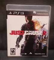 Just Cause 2 (Sony PlayStation 3, 2010) Ps3 Video Game