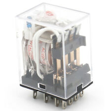HH54PL AC 220V Coil 14 Pin 4PDT Red LED Indicator Power Relay 3A 220VAC 24VDC