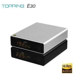 TOPPING E30 DAC Decoder AK4493 XU208 32BIT/768K DSD512 Touch Operation w/ Remote