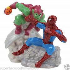 Spider-Man vs Green Goblin Salt and Pepper Shakers Marvel Comics Brand New 22927