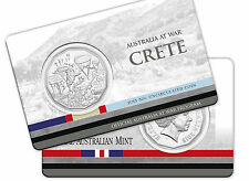 2015 Australia at War Series - Crete - 50c Coin