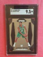 2017 Panini Prizm Jayson Tatum rookie card SGC 9.5 Boston Celtics star