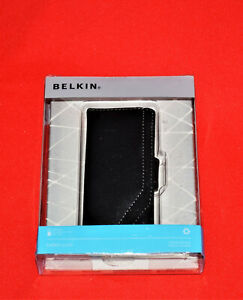 Belkin Sleeve Case Cover For iPod Nano 4th Gen Generation 8GB 16GB Black Leather
