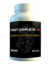 Brawn Nutrition Test Complete 180 Cap - Booster Muscle Libido Legal