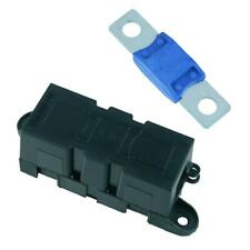 Panel Mount Inline Mega Fuse Holder + 200A Fuse Car Van Marine Truck 12V 24V