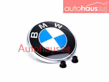 BMW E82 E88 1-SERIES REAR TRUNK BMW EMBLEM DECAL BADGE 128I 135I 1M W GROMMETS