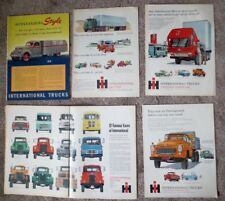 Vintage International Truck Print Ads (7) 1937 1950 1957 1959 1960