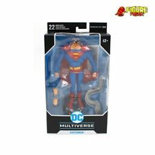 "McFarlane Toys DC Animated 7"" Wave 1 Superman Action Figure (NM Packaging !)"