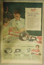 General Electric Ad: Finest Home Appliances Sponsored by Betty Crocker from 1950