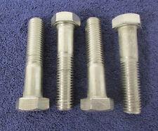"Hex Head MACHINE BOLT CAP SCREW  3/4-10 x 3-1/2"" Stainless Steel Qty 4 NEW J60"