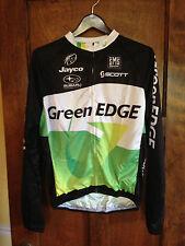 Green Edge NWT XL Men's Cycling Full Zip Jersey