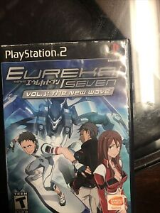 Eureka Seven Vol. 1: The New Wave (Sony PlayStation 2, 2006) PS2 Complete In Box