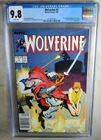Wolverine #3 NEWSSTAND - Marvel 1989 CGC 9.8 NM/MT White Pages - Comic J0039