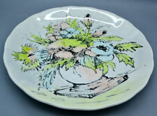 Decorative Clarice Cliff Pottery Dinner Plates