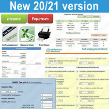 More details for bookkeeping accounts tax spreadsheet business sole trader self employed excel uk