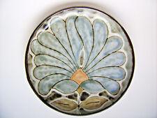Keramik Wandteller Teller Vieux Moulin Vallauris France Handarbeit 24cm vintage