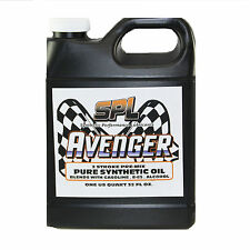 SPL Avenger. Pure Synthetic 2-Stroke For R/C Engines, Landscaping / 1Gal.