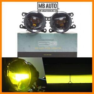 15 16 17 Porsche Macan Morimoto XB YELLOW LED Projector Type S Fog Lights Pair