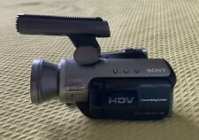 Sony HDR-HC3 Handycam HDV miniDV High Definition Camcorder + Microphone ECM-HGZ1
