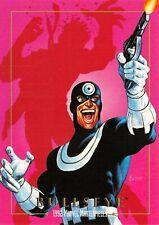 BULLSEYE / 1992 Marvel Masterpieces BASE Trading Card #19 Art by JOE JUSKO