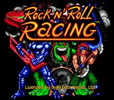 Rock 'n Roll Racing - Sega Genesis Game Only