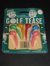 NEW Golf Tease Naughty Tee T 1994 Nude GAG Humor SPORT Golfing. Novelty Golfer