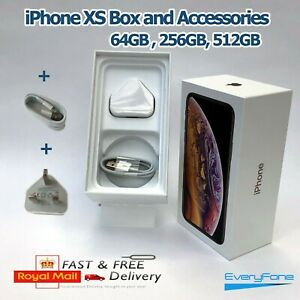 iPhone XS box only with Accessories