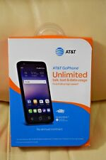 New- AT&T Prepaid - Alcatel Ideal 4G LTE with 8GB Memory Prepaid Smartphone