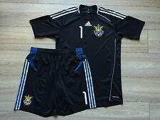 UKRAINE NATIONAL TEAM GOALKEEPER MATCH WORN FOOTBALL FULL KIT #ADIDAS #1