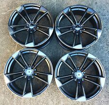 "18"" ALLOYS TO FIT AUDI TTRS A3 BLACK EDITION SPORTBACK S-LINE A3 A4 A6"