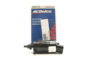 NEW ACDelco Windshield Washer Pump Front Rear 8-6714 Chevrolet Buick GMC 1985-17