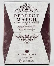LeChat Perfect Match CAMPARI SODA #29 Gel Polish & Nail Lacquer PMS29