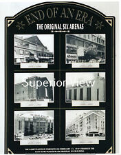 Detroit Olympia Boston Garden Chicago Toronto New York Hockey Original Arenas