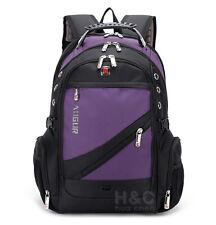 "Men's Travel Rucksack Notebook 17"" Laptop Backpack Hiking School Bag New"