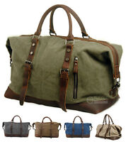 Travel Canvas Tactical Sports Military Luggage Weekend Overnight Duffel Gym Bag