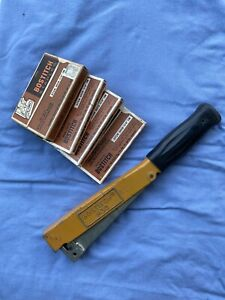 Bostitch H30-8 Power Crown Hammer Tacker Stapler w Staples