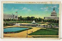 Postcard Washington D.C. Capitol & Senate Office Building 1936 Posted Stamp PC