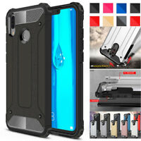 Shockproof Armor Hybrid Rugged Hard Case Cover For Huawei Y7 Pro Y9 P Smart 2019
