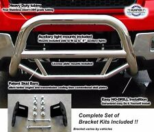 2009 - 2017 Ford F150 Super Bull Bar in Stainless Steel chrome push bar