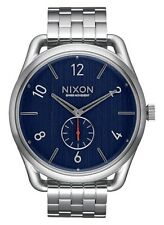 NEW NIXON C45 STAINLESS STEEL NAVY A951 307