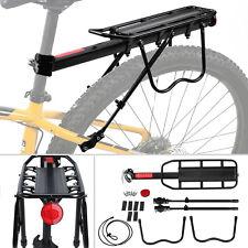 60KG Fahrrad Alu Gepäckträger für Mountainbike Gepäckträger Schnellspannhebel