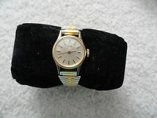 Acqua Vintage Wind Up Ladies Watch with a Stretch Band