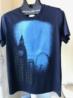 New collection man's t-shirt ZILLI, size M (48), made in FRANCE, color blue.