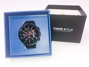 ZeBlaze Thor 4 Dual Camera Smartwatch - Bluetooth, 4G Simcard, Wifi, Fitness Log