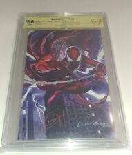 AMAZING SPIDER-MAN #1 v5 2019 GREG HORN ULTIMATE SS 9.8 ONLY 200  RARE #50 & #93