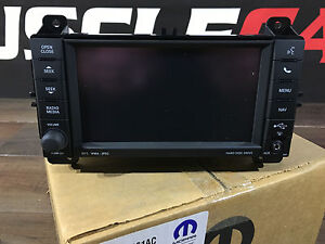 Chrysler / Dodge / Jeep Navigation Radio MP3 MyGig 730N RHP Mopar 05091661AC