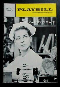 Cactus Flower Playbill programme Royale Theatre 1966 Lauren Bacall Barry Nelson