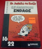 Paperback French Book La Jungle en Folie Le Mouton Enragé - Dargaud 16/22 No.101