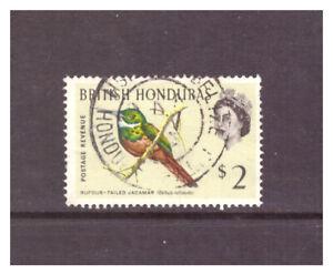 British Honduras QEII 1962 $2 Rufous-Tailed Jacamar used SG212