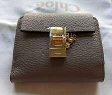 Chloe Drew Compact Wallet - Gray (Brand New)
